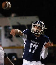 James McNamara passed for 190 yards and three touchdowns and rushed for 44 yards in Camarillo's first-round playoff win.