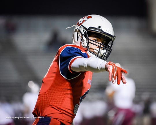 Tulare Western hosted Nipomo in a Central Section Division II high school playoff football game at Bob Mathias Stadium Friday, Nov. 8, 2019.