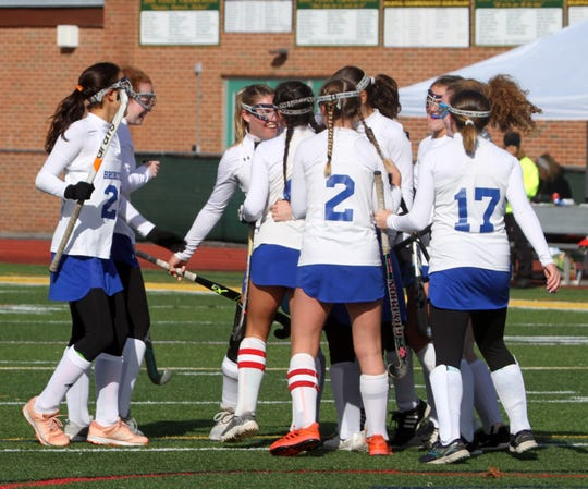 Bronxville defeated Taconic Hills 5-0 in a NYSPHSAA Class C regional final on Saturday, November 9, 2019 at Lakeland High School in Shrub Oak.