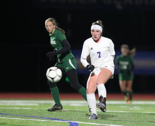 Pearl River's Kate McNally had 10 goals and five assists this season.