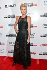 Charlize Theron attends the 33rd American Cinematheque Awards on Nov. 8.