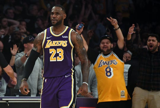 LeBron James and the Lakers have won seven straight since losing the season opener.