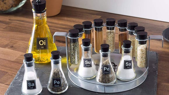 Best gifts for nerds 2019: Chemist Spice Rack