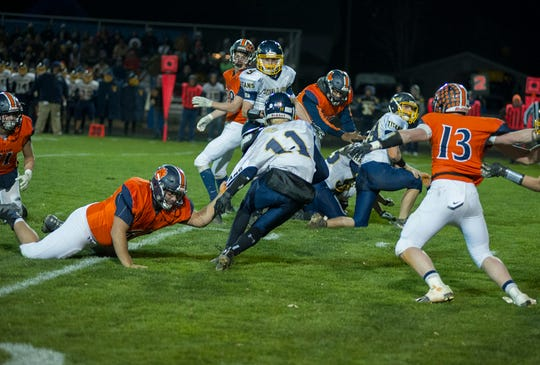 Galion's John Abouhassan was a standout on both lines and received top honors because of it.