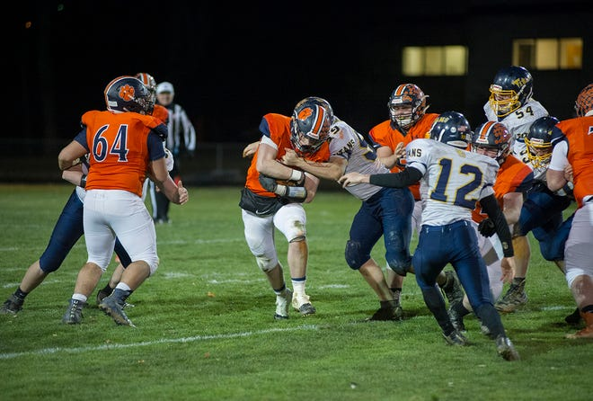 Galion's Wilson Frankhouse will need a big bounce-back game against Harding in Week 2.