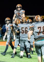 Waverly defeated Gallia Academy 40-0 in a Division IV regional quarterfinal on Saturday, Nov. 9, 2019, in Waverly, Ohio. Waverly will go on to play Bloom Carroll in a regional semifinal.