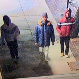 The Cincinnati Police Department is still looking for three suspects involved in multiple thefts, attempted robberies and robberies in the Central Business and Over the Rhine areas last week.