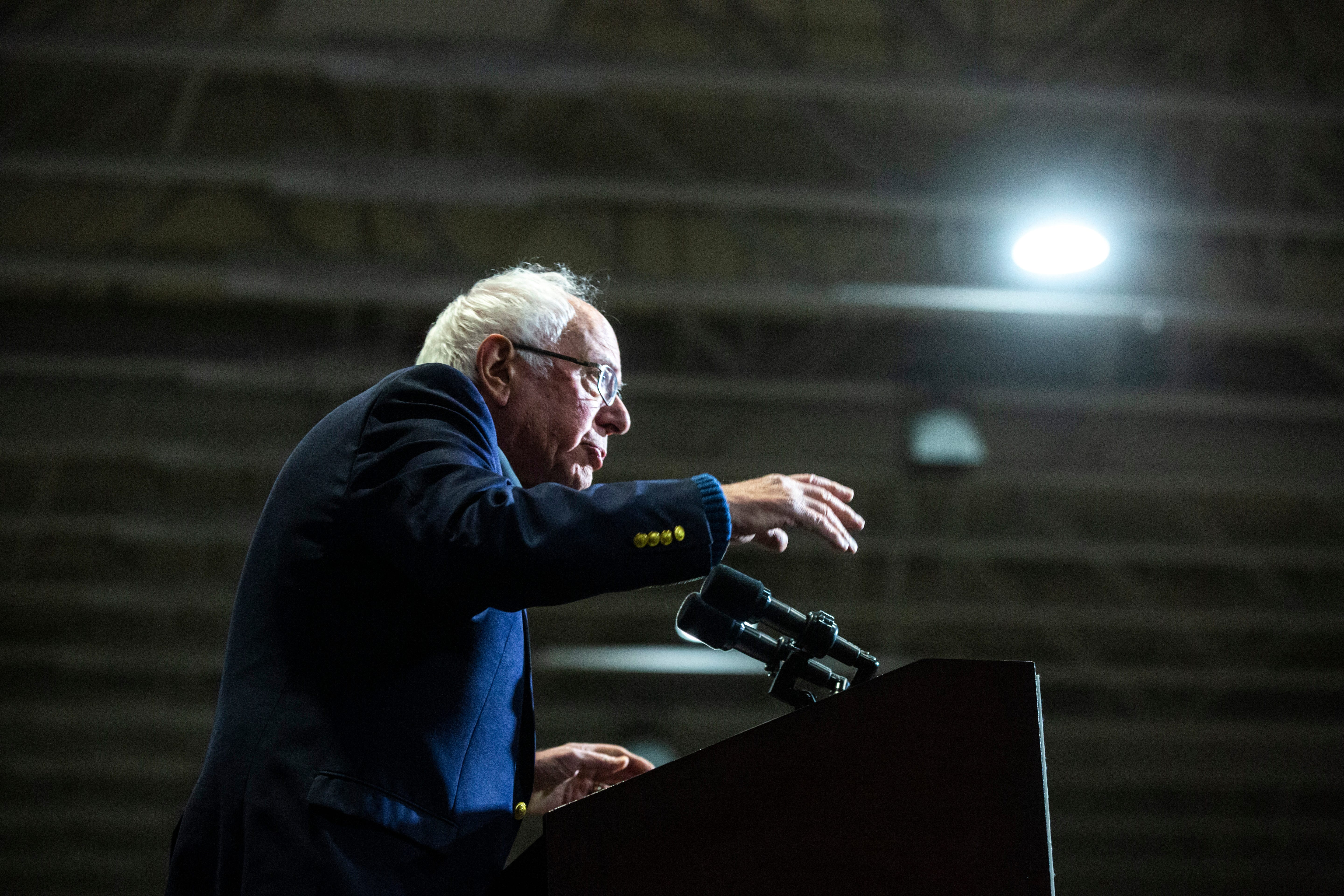 Watch: Sanders to billionaires, 'You ain't going to buy this election'