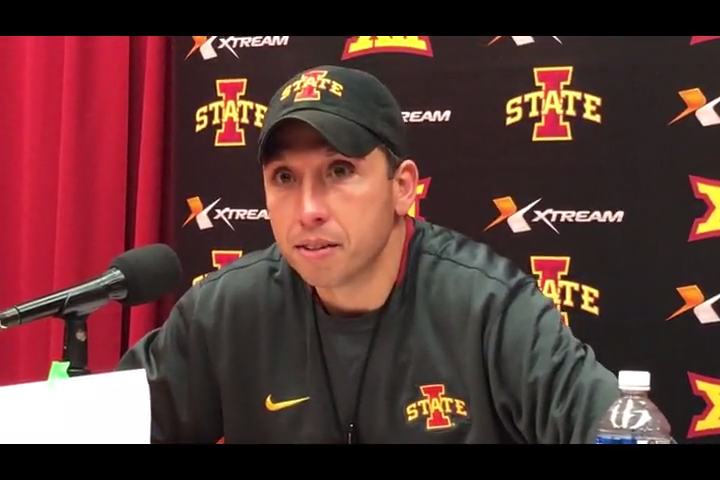 Matt Campbell's passionate postgame words after heartbreak in Oklahoma