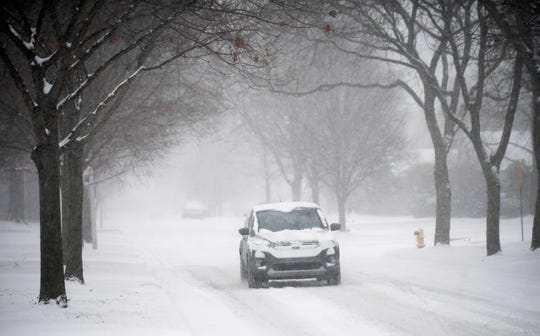 Metro Detroit is expected to see three to four inches of snow, and in the Thumb area, six to eight inches is expected,  and up to a foot is possible.