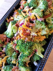 Broccoli salad at the North Main Annex Gourmet Deli and Catering.