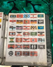 """A quick glance through Christopher Dykes's flag catalog shows the wide range of controversial, Nazi-themed flags that are available for purchase."""