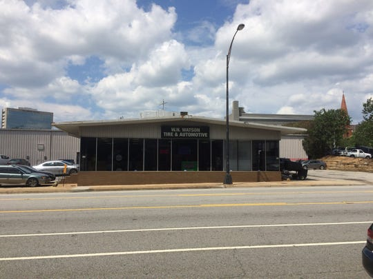 Flock Shop in Greenville will be located in an old tire store at 307 E. Washington St.