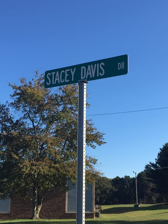 Stacey Davis taught at Bells Elementary for 31 years before she died in summer 2019. The school recognized her dedication to the school by renaming the school street after her.