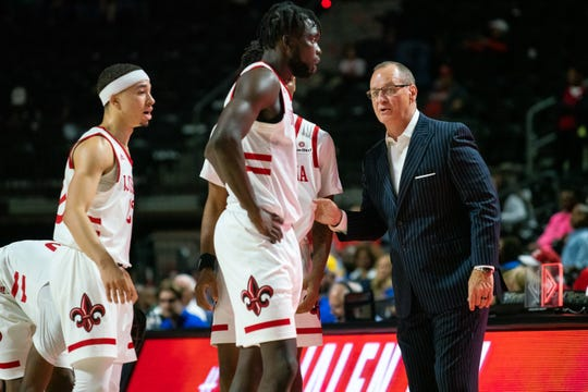 UL coach Bob Marlin's team has been shorthanded all season.