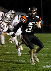 Amanda-Clearcreek senior Jesse Connell is the 2019 Eagle-Gazette Defensive Player of the Year.