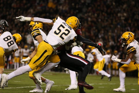 Appalachian State upsets South Carolina on the road