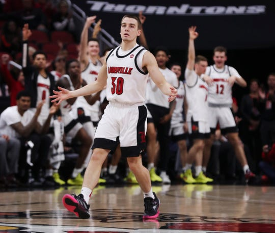 Ryan McMahon had the bench on its feet after knocking down a 3-pointer in the first half.