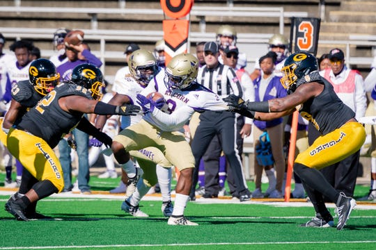 Grambling defeated Alcorn State 19-16 at home in Grambling, La. on Nov. 9.