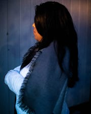 Mercedes Gonzalez poses for a portrait at her home on Nov. 8 in Murfreesboro, Tenn.
