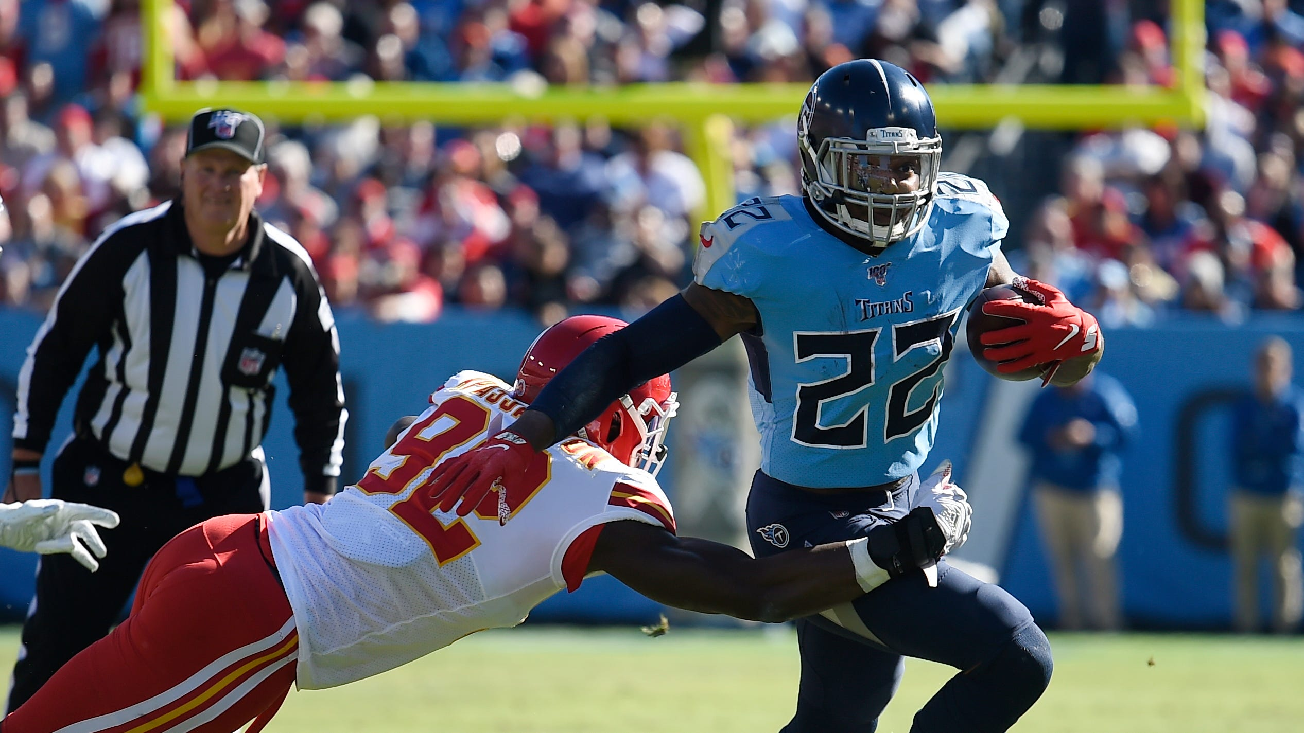 Can Derrick Henry do it again vs. Chiefs?