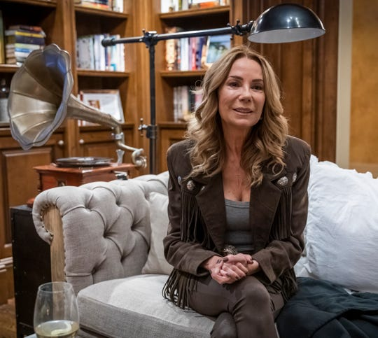 Kathie Lee Gifford is photographed at her home in Franklin Saturday, November 9, 2019.