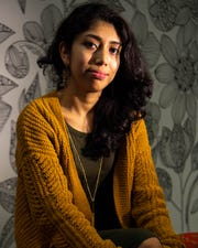Jazmin Ramirez poses for a portrait at Tennessee Immigrant & Refugee Rights Coalition on Nov. 7 in Nashville.