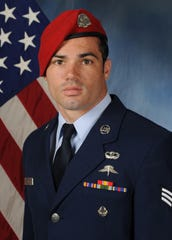 U.S. Air Force Staff Sgt. Cole Condiff