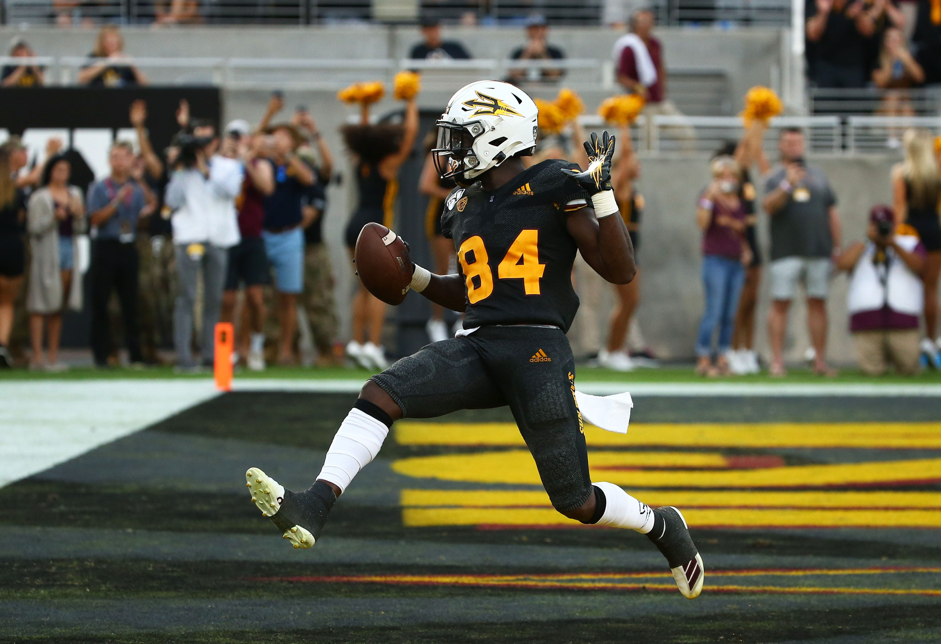 ASU receiver Frank Darby officially declares for NFL draft