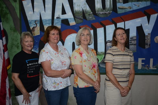 The 2019 team representing Wakulla County. Left to right, Sharon Gray, Linda Clemens, JoAnn Green and Michele Hackmeyer.