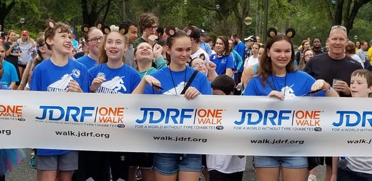 The 2019 JDRF Walk brings the community togethe rto raise awareness about type 1 diabetes.