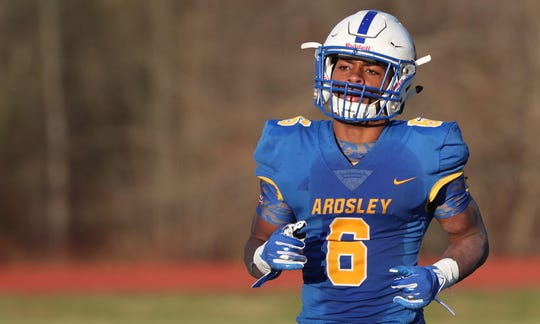 Ardsley defeated Byram Hills 55-27 to win the Section 1 Class B championship at Mahopac High School Nov. 9, 2019.