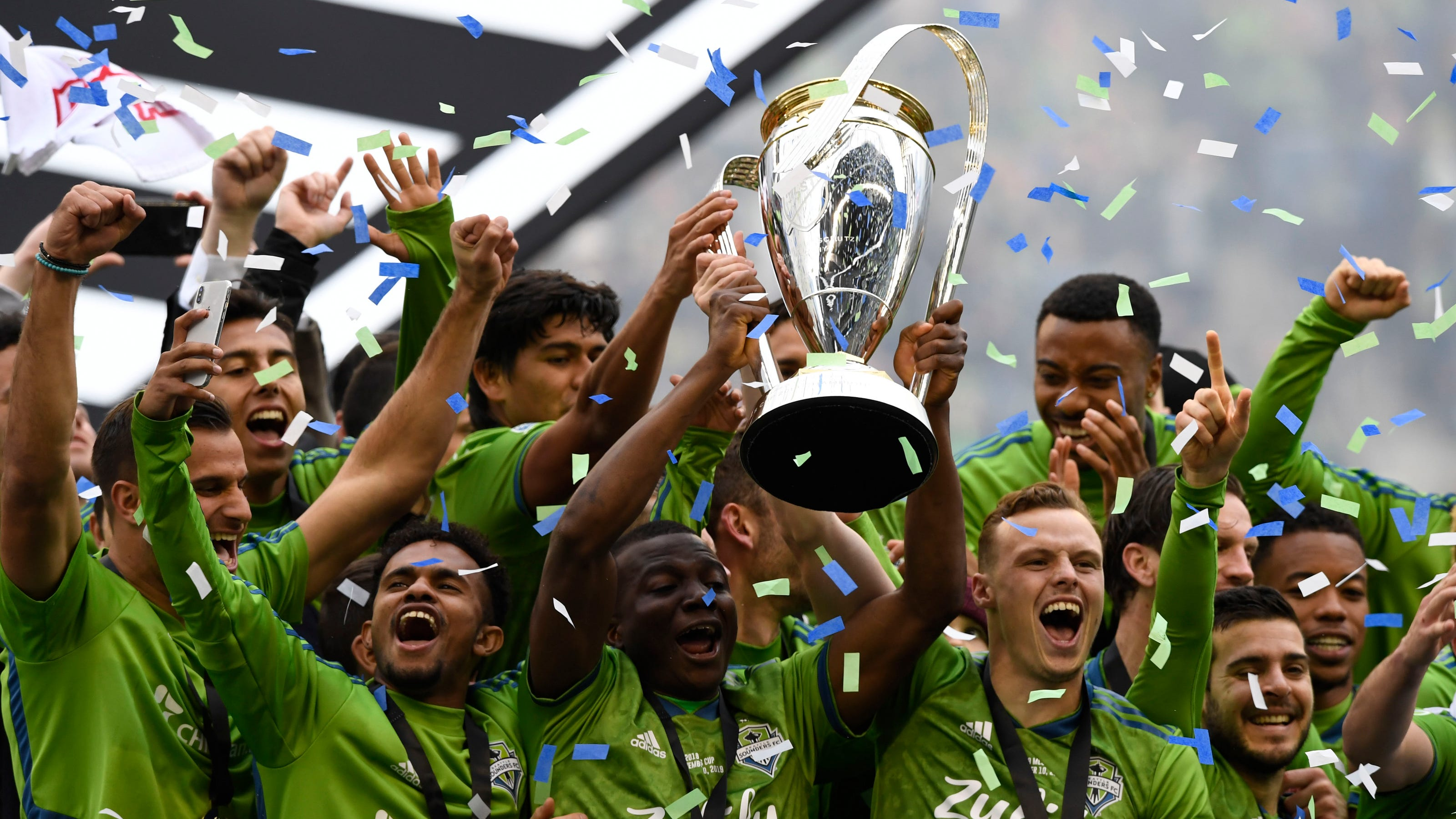 mls cup 2019 seattle sounders fc top toronto fc in championship game mls cup 2019 seattle sounders fc top