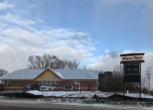 Kwik Trip at the corner of West Wisconsin Avenue and Westhill Boulevard is slated to open around Christmas.
