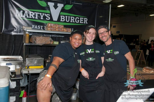 New Jersey VegFest, seen in these shots from 2017, returns to the Meadowlands Exposition Center in Secaucus on Nov. 16 and 17.