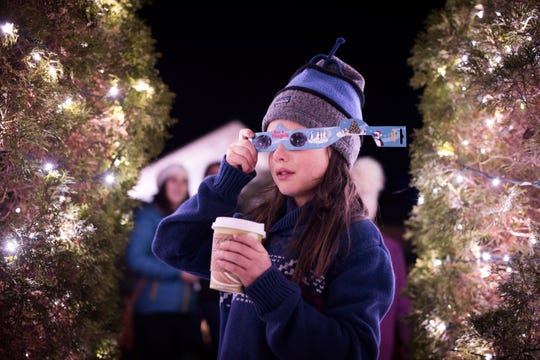 Enjoy hot cocoa and mesmerizing sights at this year's Winter Lights program.