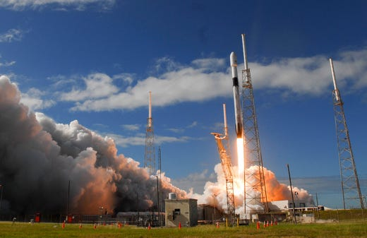 It's launch day! Things to know for SpaceX Falcon 9 launch from Cape Canaveral