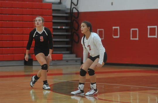 Jade Torres was one of the defensive standouts for Bucyrus this year.