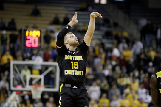Northern Kentucky's Tyler Sharpe scored 33 points against IUPUI on Sunday.