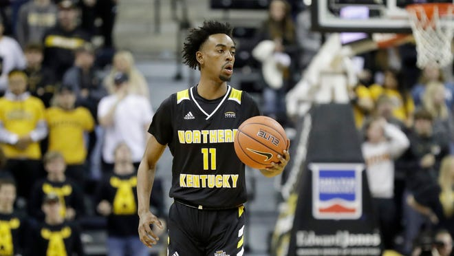 NKU's Jalen Tate had 13 points, seven rebounds and seven assists in a win over Coastal Carolina.