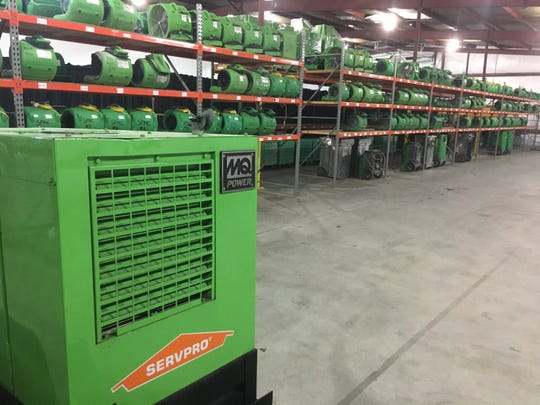 Servpro has moved its Clarksville base from Crossland Avenue to a renovated former tobacco auction warehouse in 38,000 square feet at 1880 Ashland City Road.