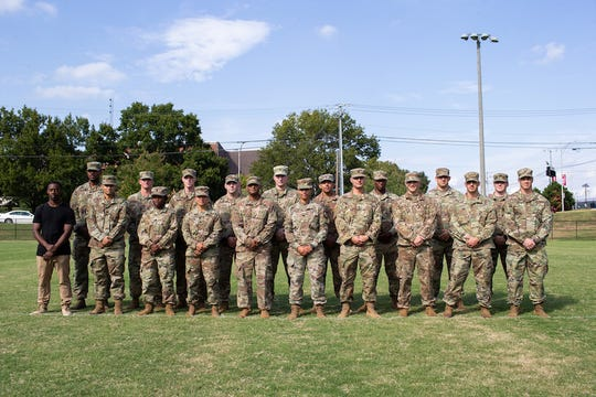 Twenty of the 117 cadets at Austin Peay have served in 41 combat tours.