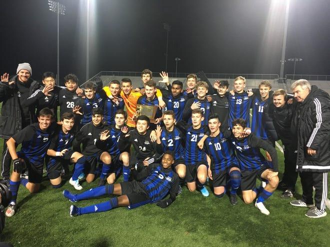 The Gill St. Bernard's boys soccer team won the 2019 NJSIAA Non-Public B championship
