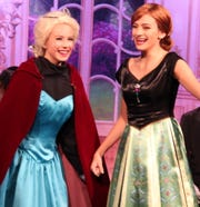 "Sarah Alves of Springfield and Julia Machado of Edison starred in the Middle School production of ""Frozen Jr."""
