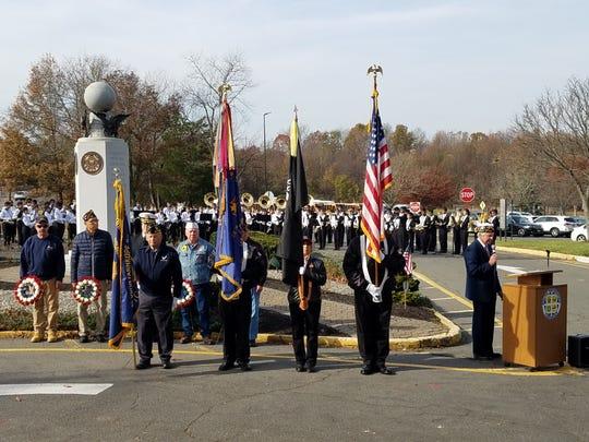 South Brunswick honored veterans at itsSouth Brunswick Township Veterans Day Service on Monday.