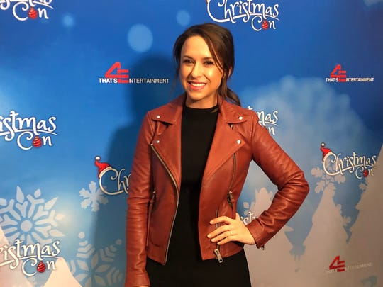 The first-ever Hallmark Christmas Con at the New Jersey Convention and Exposition Center in Edison saw more than 9,000 visitors enjoying the spirit of the season through the eyes of Hallmark and its beloved movie celebrities, including Lacey Chabert.