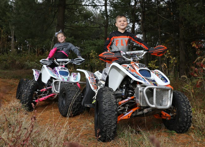 Bryson and Raelynn Dickerson have been racing ATVs for as long as they have been old enough to hold on to the handlebars.
