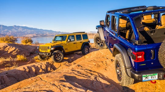 The 2020 Rubicon off-road EcoDiesel