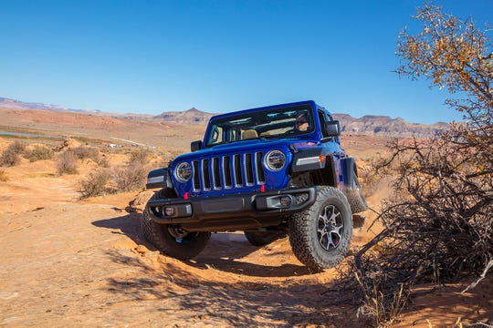 The 2020 Jeep Wrangler Rubicon off-road EcoDiesel