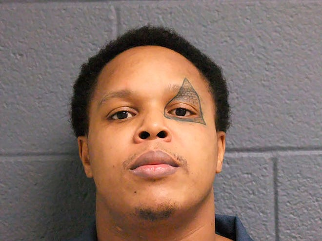 This Oct. 26, 2017, photo provided by the Michigan Department of Corrections shows Alex Lavell Rawls. Authorities said that Rawls faces home invasion charges from an incident Wednesday, Nov. 6, 2019, where he was fended off by a replica battle ax.